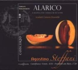 ALARICO SCARLATTI CAMERA ENSEMBLE/LUCA CASAGRANDE Audio CD, A. STEFFANI, CD