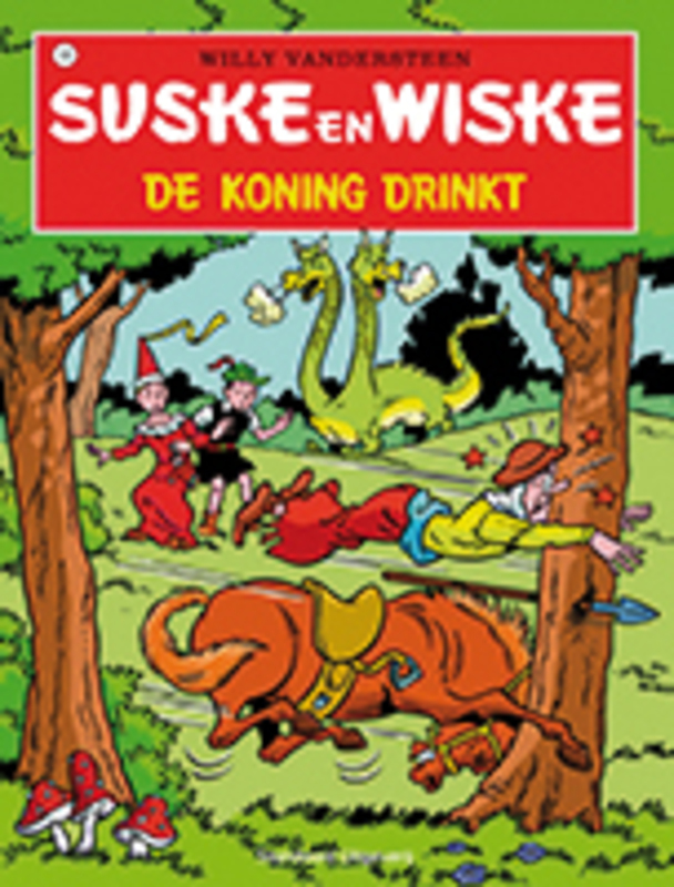 SUSKE EN WISKE 105. DE KONING DRINKT (NIEUWE COVER) Suske en Wiske, Willy Vandersteen, Paperback