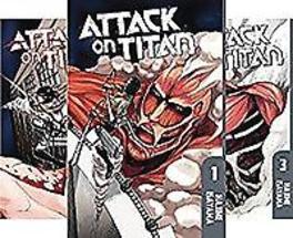 Attack on Titan Season 1 Manga Set Isayama, Hajime, Paperback