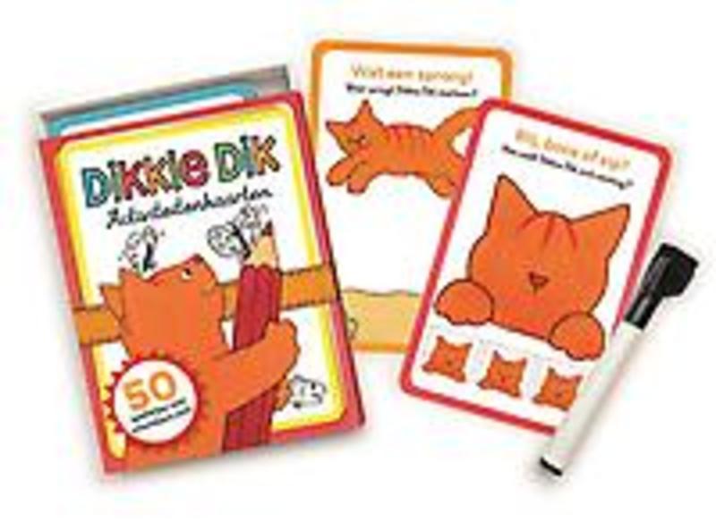Activiteitenkaarten. 50 spelletjes met uitwisbare stift, Jet Boeke, Paperback