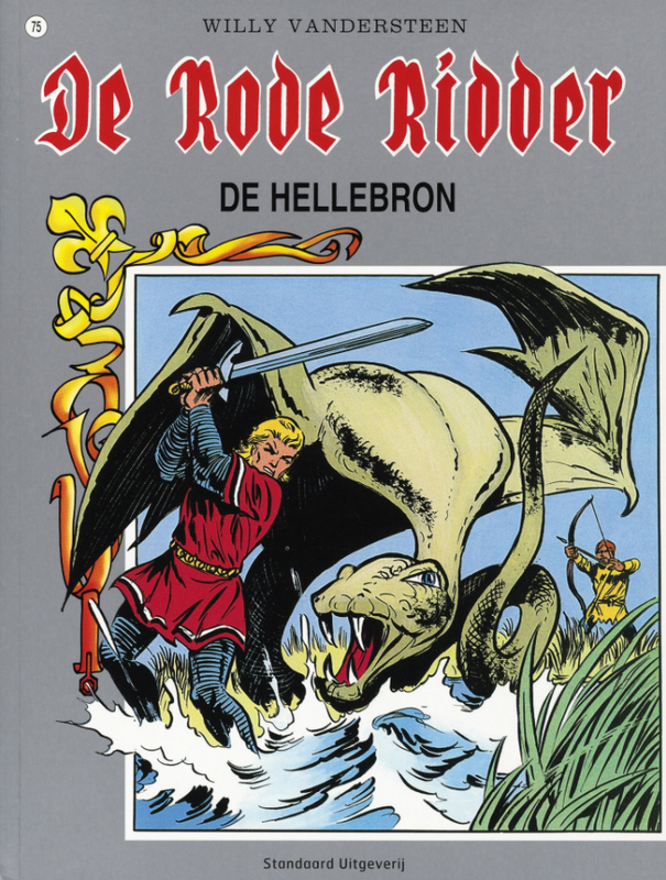 RODE RIDDER 075. HELLEBRON De Rode Ridder, Vandersteen, Willy, Paperback