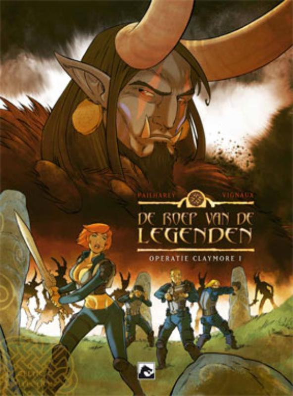 Operatie Excalibur De roep van de legenden, Éric Pailharey, Hardcover
