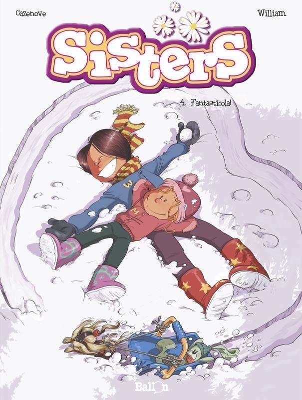 SISTERS 04. FANTASTICOLA SISTERS, William, Paperback