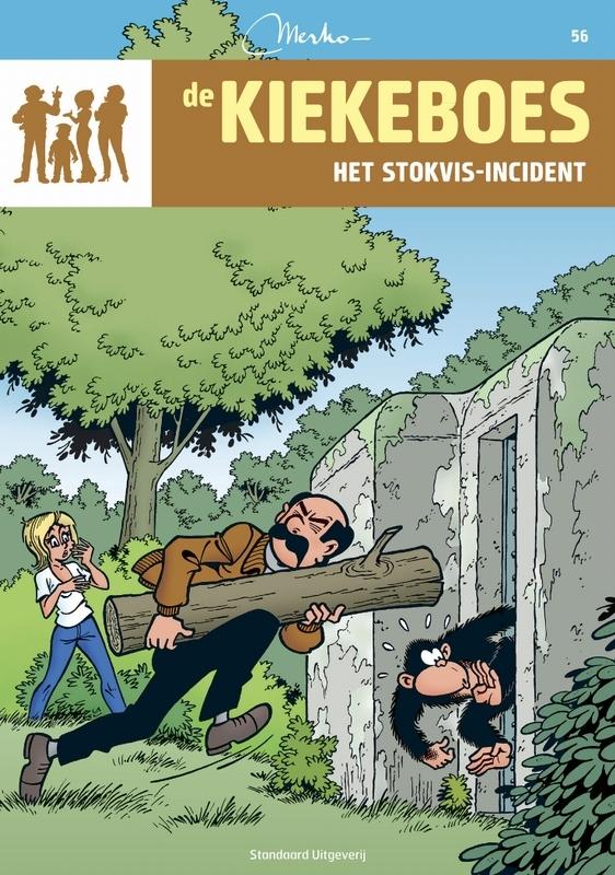Het stokvis-incident KIEKEBOES DE, Merho, Paperback