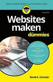 Websites maken voor Dummies, 6e editie, pocketeditie. David A. Crowder, Paperback