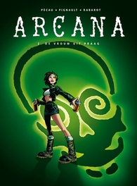 ARCANA HC02. DE VROUW UIT PRAAG ARCANA, Pécau, Jean-Pierre, Hardcover