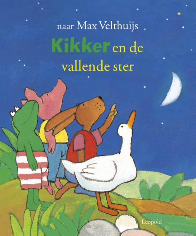 Kikker en de vallende ster Velthuijs, Max, Hardcover