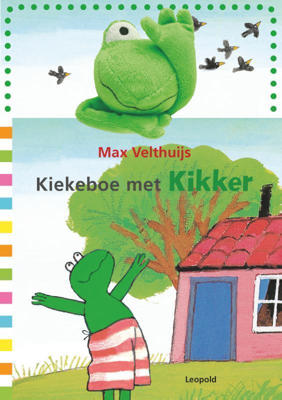 Kiekeboe met Kikker Max Velthuijs, Hardcover