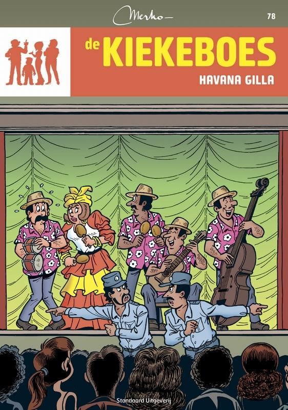 KIEKEBOES DE 078. HAVANA GILLA Kiekeboe, Merho, Paperback