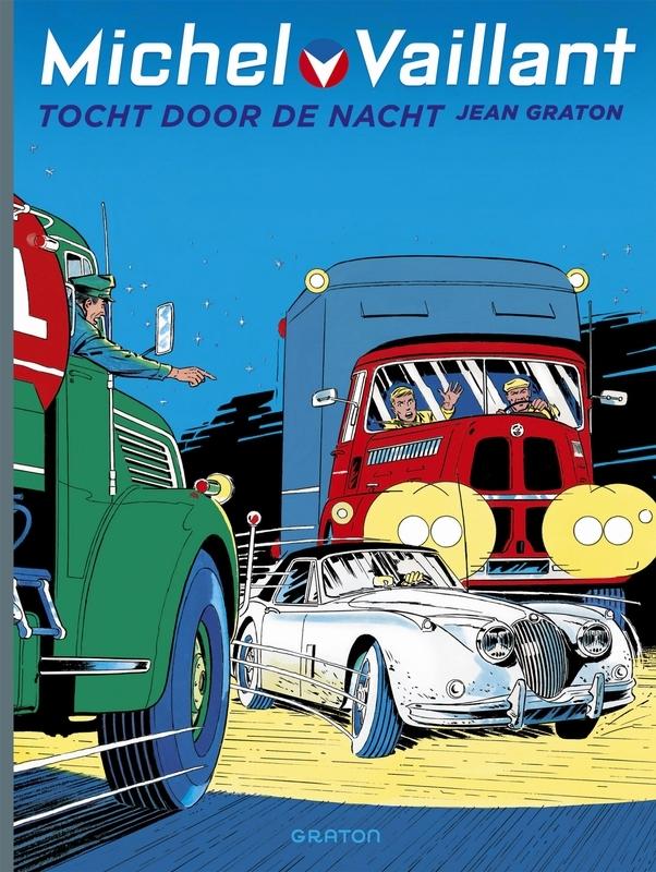 MICHEL VAILLANT HC04. TOCHT DOOR DE NACHT. MICHEL VAILLANT, GRATON, JEAN, Hardcover