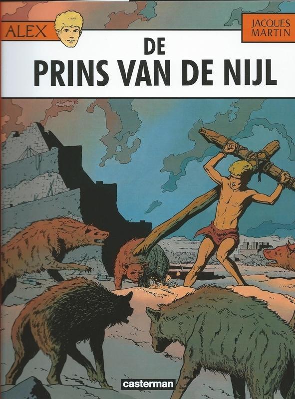 ALEX 11. DE PRINS VAN DE NIJL ALEX, Martin, Jacques, Paperback