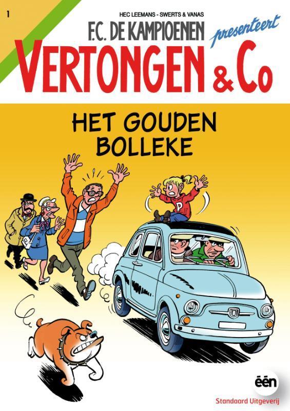 Vertongen & C0 het gouden bolleke VERTONGEN & CO, Swerts & Vanas, Paperback