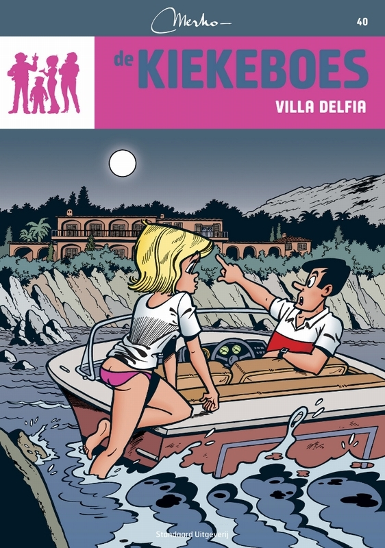 Villa Delfia De Kiekeboes, Merho, Paperback