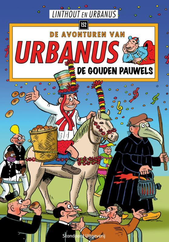 URBANUS 152. DE GOUDEN PAUWELS Urbanus, Willy Linthout, Paperback