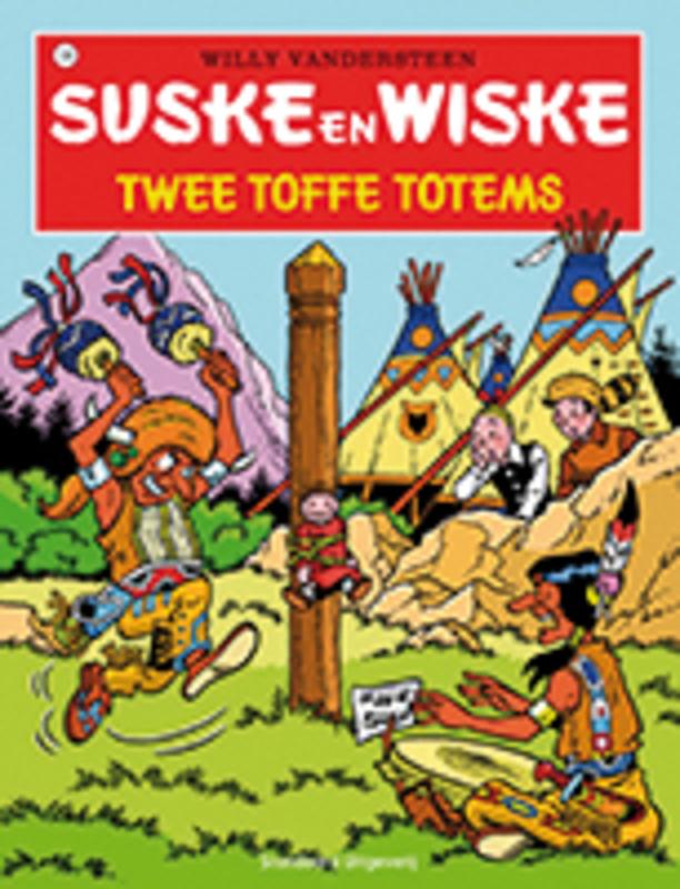 SUSKE EN WISKE 108. TWEE TOFFE TOTEMS (NIEUWE COVER) Suske en Wiske, Willy Vandersteen, Paperback