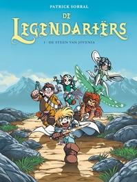 LEGENDARIERS 01. DE STEEN VAN JOVENIA LEGENDARIERS, Sobral, Patrick, Paperback