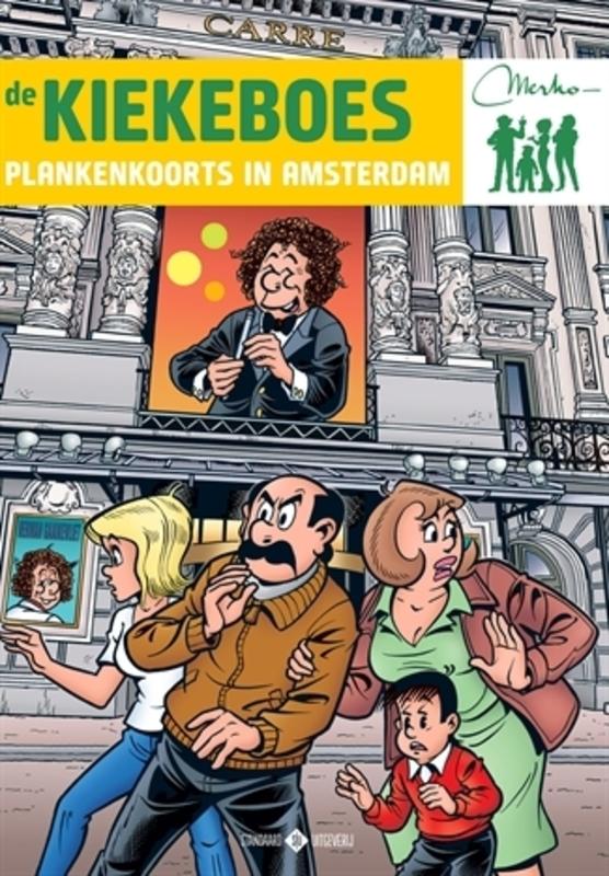 Plankenkoorts in Amsterdam KIEKEBOES DE, Merho, Paperback