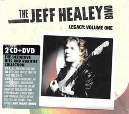 LEGACY VOLUME 1 + DVD Audio CD, HEALEY, JEFF -BAND-, CD