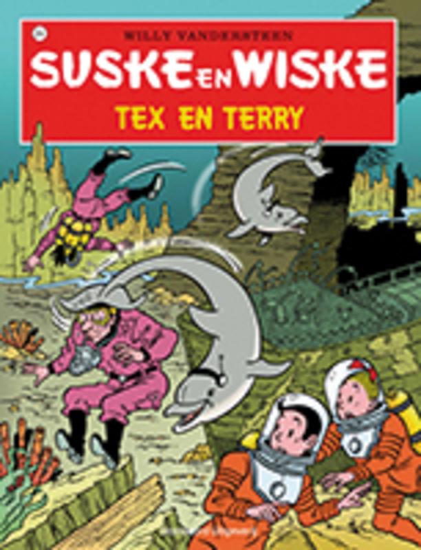 SUSKE EN WISKE 254. TEX EN TERRY (NIEUWE COVER) Suske en Wiske, Willy Vandersteen, Paperback