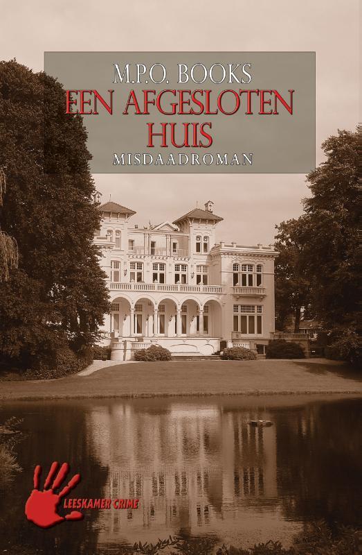 Een afgesloten huis misdaadroman, BOOKS, Paperback