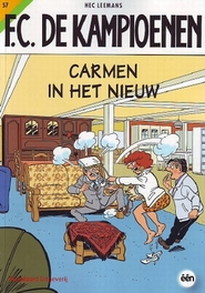 Carmen in het nieuw F.C. De Kampioenen, Hec Leemans, Paperback