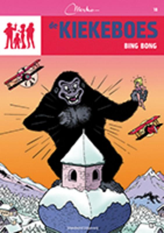 Bing Bong De Kiekeboes, MERHO, Paperback