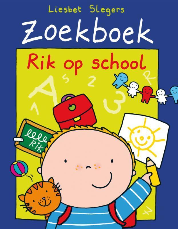 Rik op school Zoekboeken, Liesbet Slegers, Hardcover