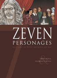 ZEVEN HC09. PERSONAGES 9/14 ZEVEN, PHILLIPS, SEAN, VEHLMANN, FABIEN, Hardcover