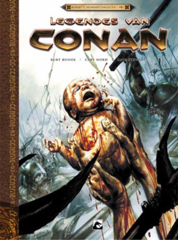 Geboren op het slagveld: I Legendes van Conan, RUTH, GREG, BUSIEK, KURT, Hardcover