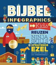 Bijbel infographics voor kids. Hardcover  <span class=