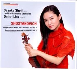 VIOLIN CONCERTOS 1&2 SAYAKA SHOJI D. SHOSTAKOVICH, CD