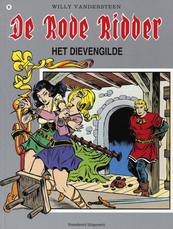 Dievengilde De Rode Ridder, Vandersteen, Willy, Paperback