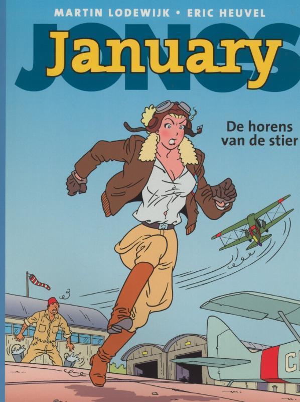 JANUARY JONES 05. DE HORENS VAN DE STIER january jones, Martin Lodewijk, Paperback
