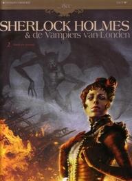 COLLECTIE 1800 HC03. SHERLOCK HOLMES & DE VAMPIERS VAN LONDON 2 DOOD EN LEVENS Dood en Levend, Cordurié, Sylvain, Paperback