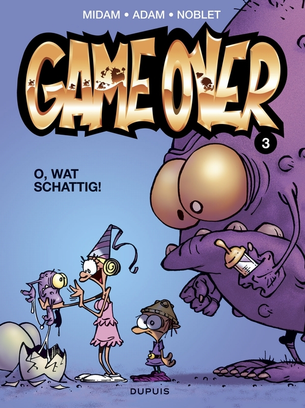 GAME OVER 03. O, WAT SCHATTIG GAME OVER, Adam, Eric, Paperback