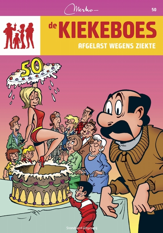 KIEKEBOES DE 050. AFGELAST WEGENS ZIEKTE KIEKEBOES DE, Merho, Paperback
