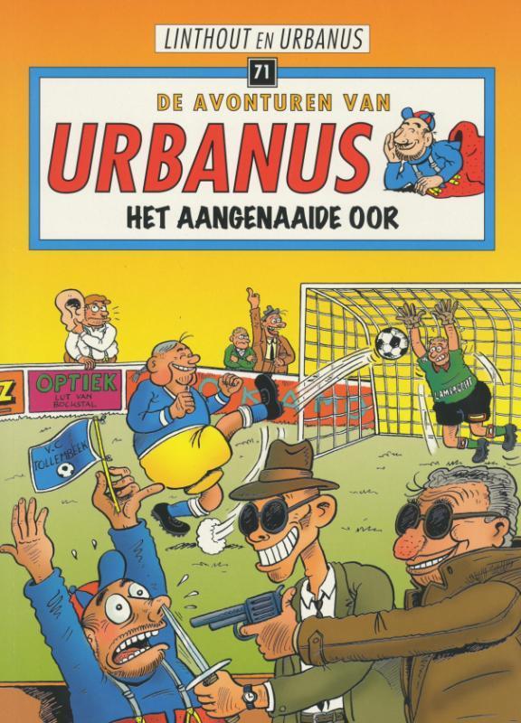 Het aangenaaide oor URBANUS, Linthout, Willy, Paperback