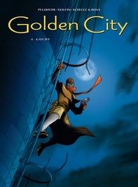 GOLDEN CITY HC04. GOLDY GOLDEN CITY, MALFIN, NICOLAS, PECQUEUR, DANIEL, Hardcover