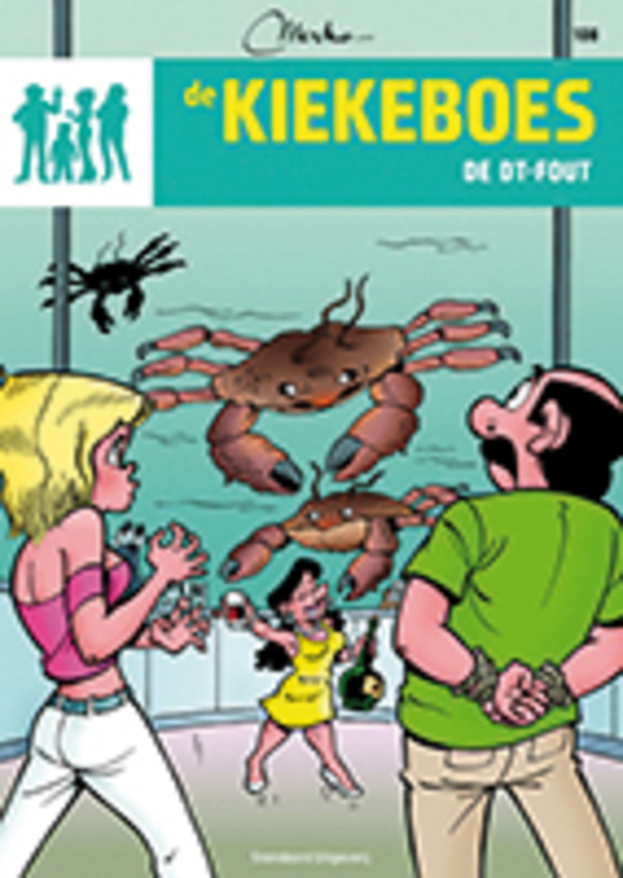 De DT-fout KIEKEBOES DE, Merho, Paperback