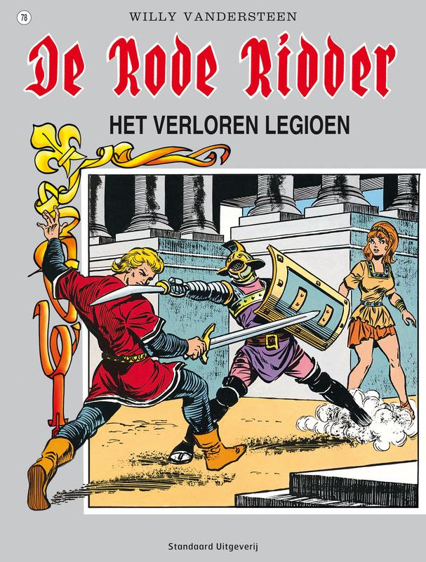 Verloren legioen RODE RIDDER, Willy Vandersteen, Paperback