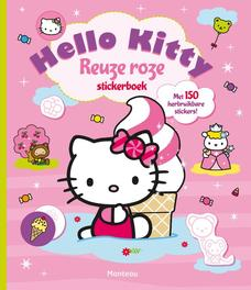 Hello Kitty reuze roze Stickerboek Hello Kitty, Paperback