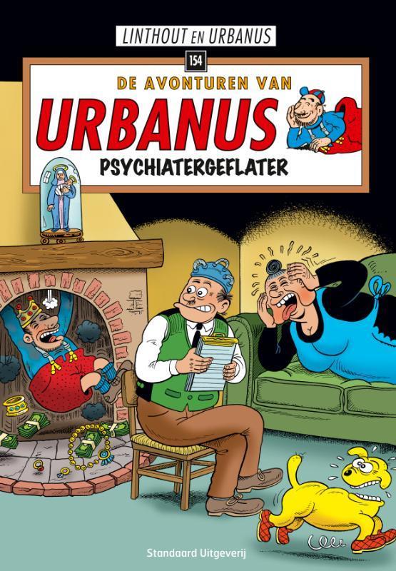 URBANUS 154. PSYCHIATERGEFLATER. URBANUS, Willy Linthout, Paperback