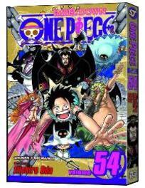 One Piece 54 Unstoppable, Eiichiro Oda, Paperback