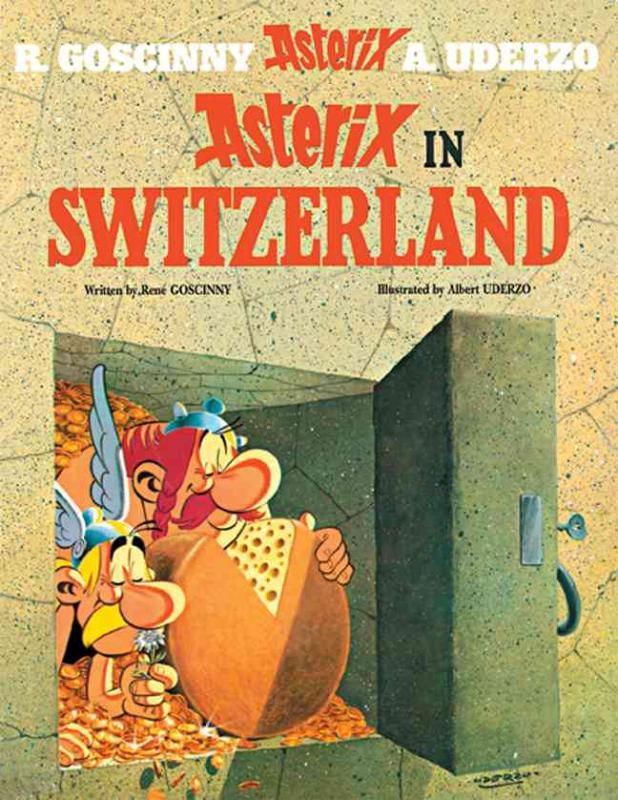 Asterix 16 in Switzerland Album 16, René Goscinny, onb.uitv.