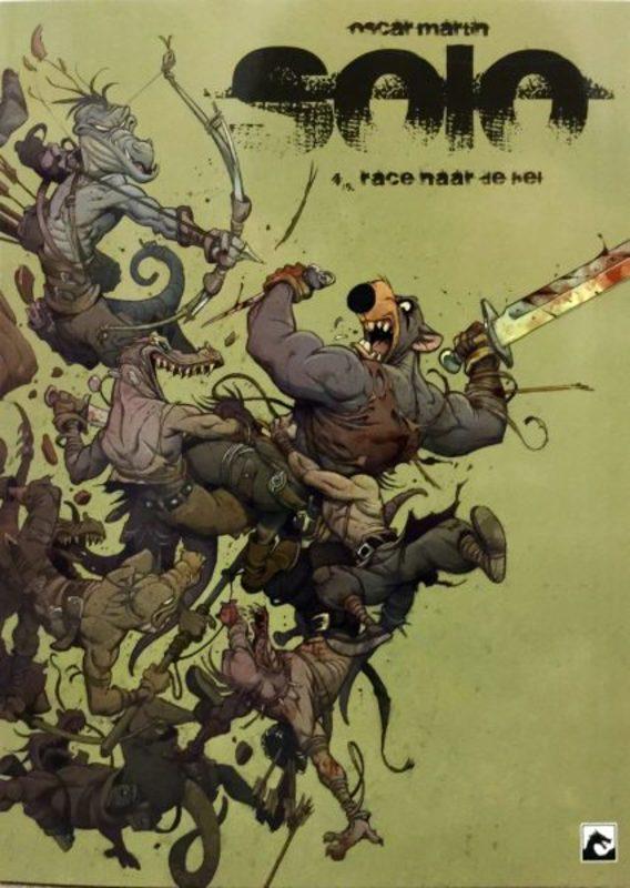 SOLO 04. Race naar de hel (MARTIN) 64 p.Paperback SOLO, Martin, Oscar, BKSTSPER