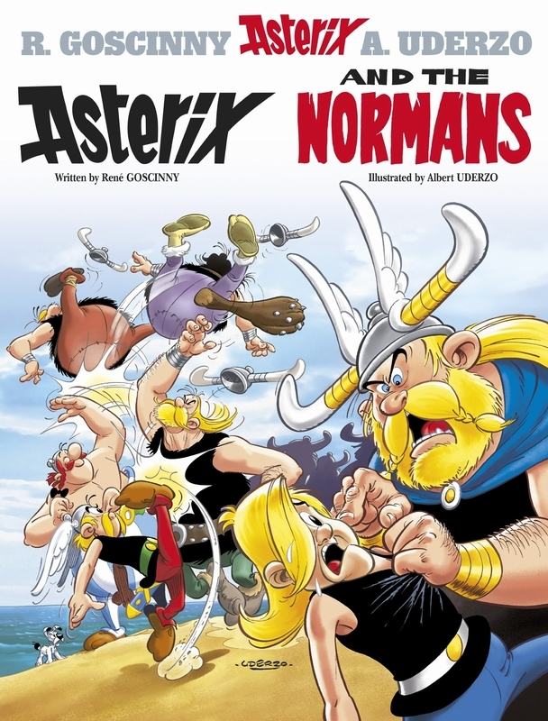 ASTERIX (09) ASTERIX AND THE NORMANS (ENGLISH) Album 9, Goscinny, Rene, Paperback