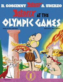 ASTERIX (12) ASTERIX AT THE OLYMPIC GAMES (ENGLISH) Album #12, UDERZO A, Paperback