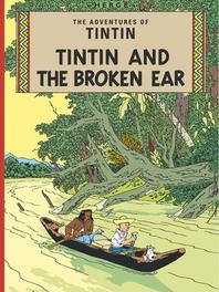 Broken Ear TINTIN, Hergé, Paperback