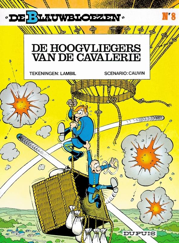 BLAUWBLOEZEN 08. DE HOOGVLIEGERS VAN DE CAVALERIE BLAUWBLOEZEN, LAMBIL, WILLY, CAUVIN, RAOUL, Paperback