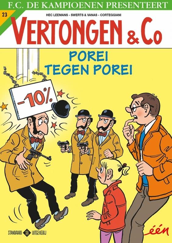 Porei tegen Porei VERTONGEN & CO, Swerts & Vanas, Paperback
